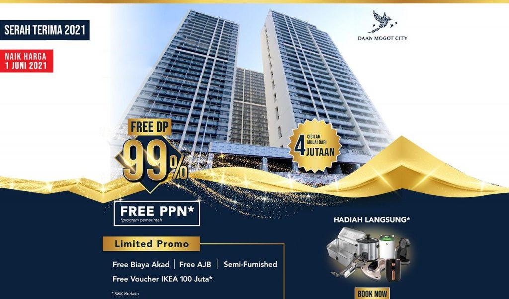 Apartemen Dp 1% Jakarta